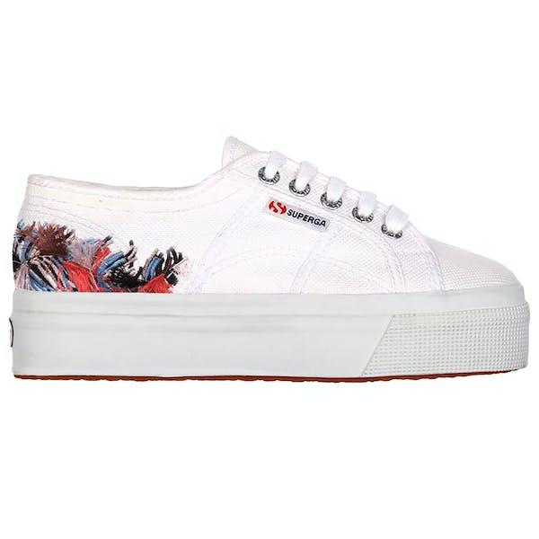 Sapatos Senhora Superga 2790 Fringe Embroidery