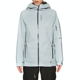 Blouson pour Snowboard Femme Black Diamond BoundaryLine Insulated - Limestone Anthracite