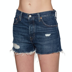 Levi's 501 High Rise Women's Shorts - Silver Lake