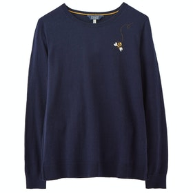 Joules Tina Ladies Knits - Navy Bee