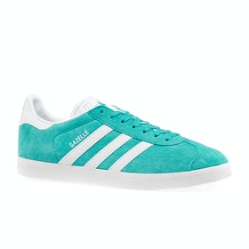 Chaussures Adidas Originals Gazelle - Aqua White White