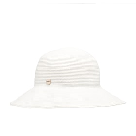 Seafolly Newport Fedora Womens Hat - White