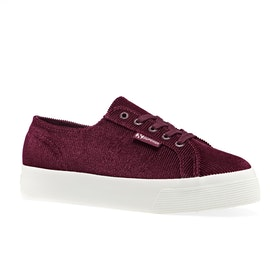 Superga 2730 Corduroy Womens Shoes - Bordeaux