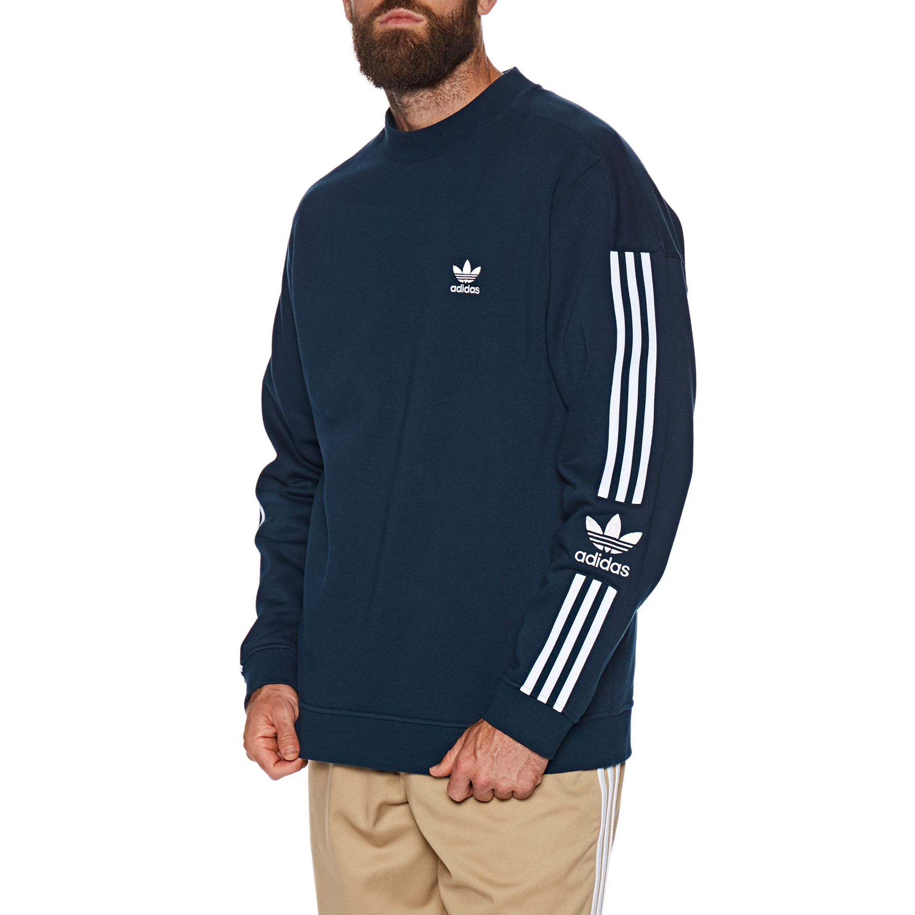 Adidas Originals Lock Up Crew Sweater | Free Delivery Options