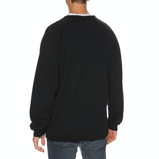 Santa Cruz Dressen Rose Kit Emb Crew Sweater