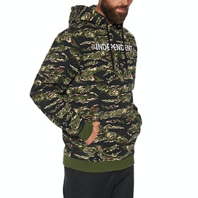 Independent Bar Cross Pullover Hoody - Tiger Camo