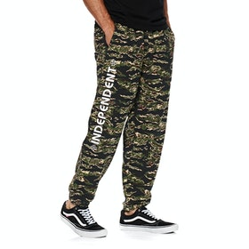 Independent Bar Cross Sweatpant Joggingbukser - Tiger Camo