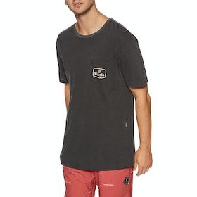 Vissla Bones Short Sleeve T-Shirt - Phantom
