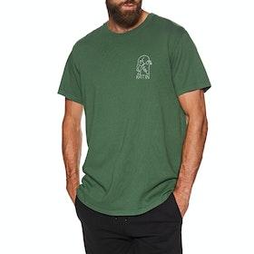 Katin Skull Contour Short Sleeve T-Shirt - Pine