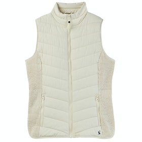 Joules Fallow Ladies Gilet - Winter White