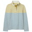 Gold Cream Blue Stripe