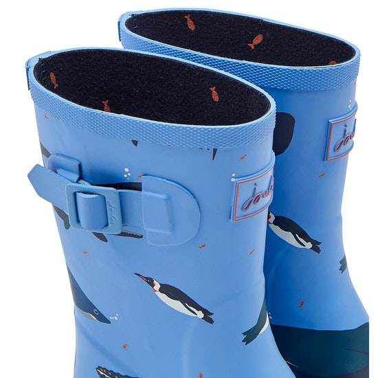 Joules Jnr Welly Print Wellingtons