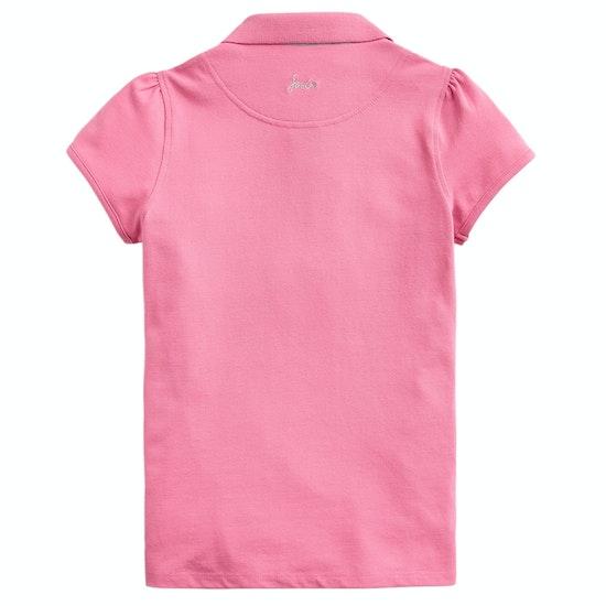 Joules Moxie Applique Girls Polo Shirt
