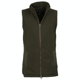 Barbour Dunkeld Fleece Ladies Gilet - Olive