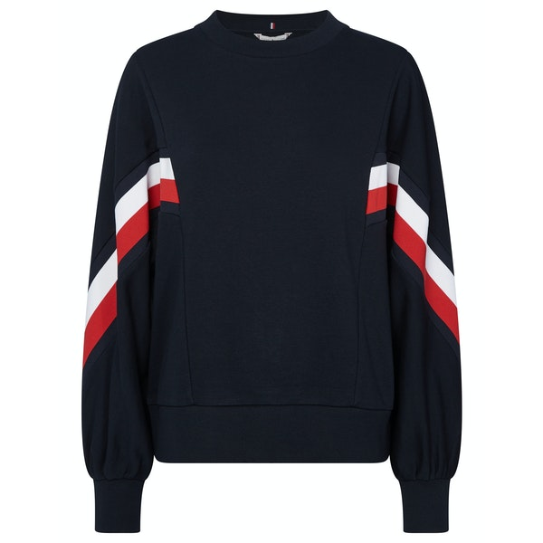 Tommy Hilfiger Kitty Open-nk Sweatshirt Women's Sweater