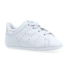 Adidas Originals Stan Smith Crib Baby Shoes - White White Silver