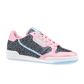 Adidas Originals Continental 80 Womens Shoes - True Pink Navy Glow Blue
