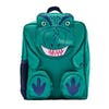 Joules Zippyback Kids Backpack - Green Dino