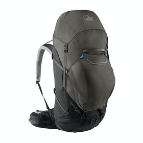 Lowe Alpine Cerro Torre 65:85 Hiking Backpack - Black / Greyhound
