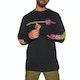 T-Shirt a Manica Lunga Santa Cruz Opus Dot Stripe Fade