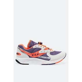 Saucony Aya Shoes - White Purple Orange