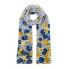 Joules Wensley Womens Scarf - Cream Navy Floral