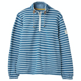 Joules Bewley Salt Ladies Sweater - Dark Blue Creme Stripe