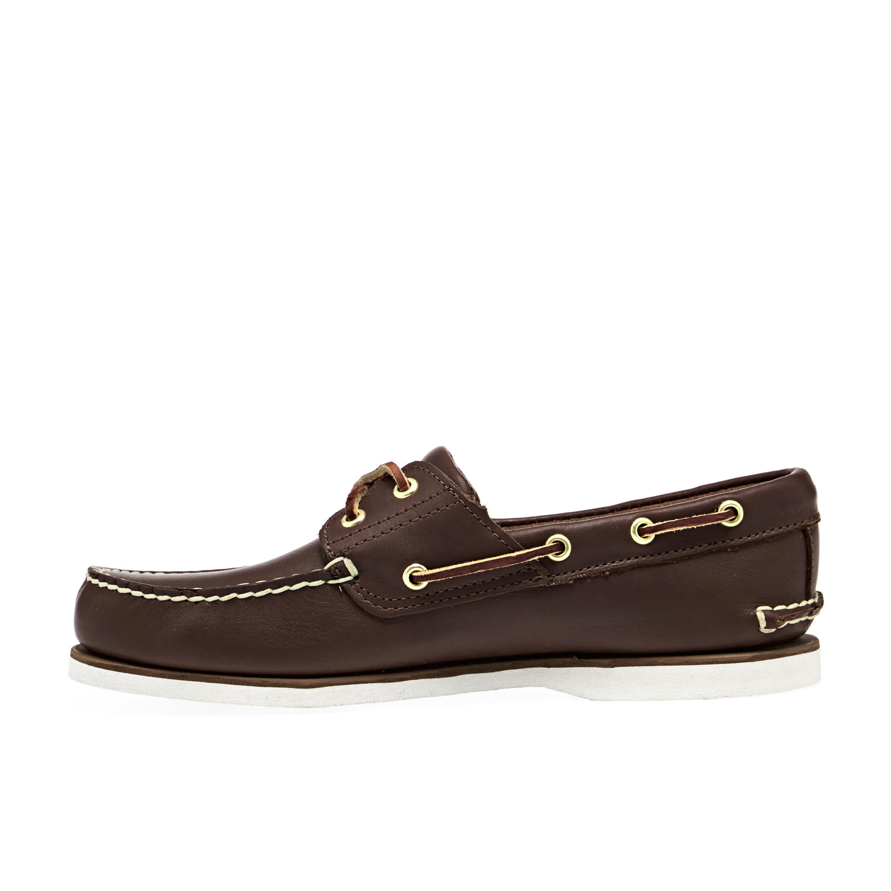 Mid Boat Shoes 2 Classic Eye Timberland Dress Full Brown 0OnwkP8