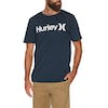 Hurley One And Only Solid Short Sleeve T-Shirt - Obsidian