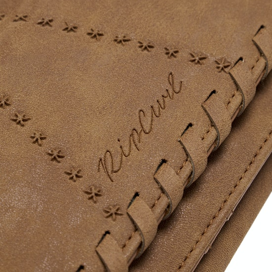Rip Curl Lotus Cheque Book Wallet Womens Purse