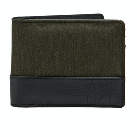Animal Reckless Bifold Wallet - Olive