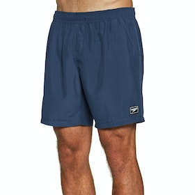 "Speedo Prt Trim Leis 16"" Wsht Am Swim Shorts - Navy"