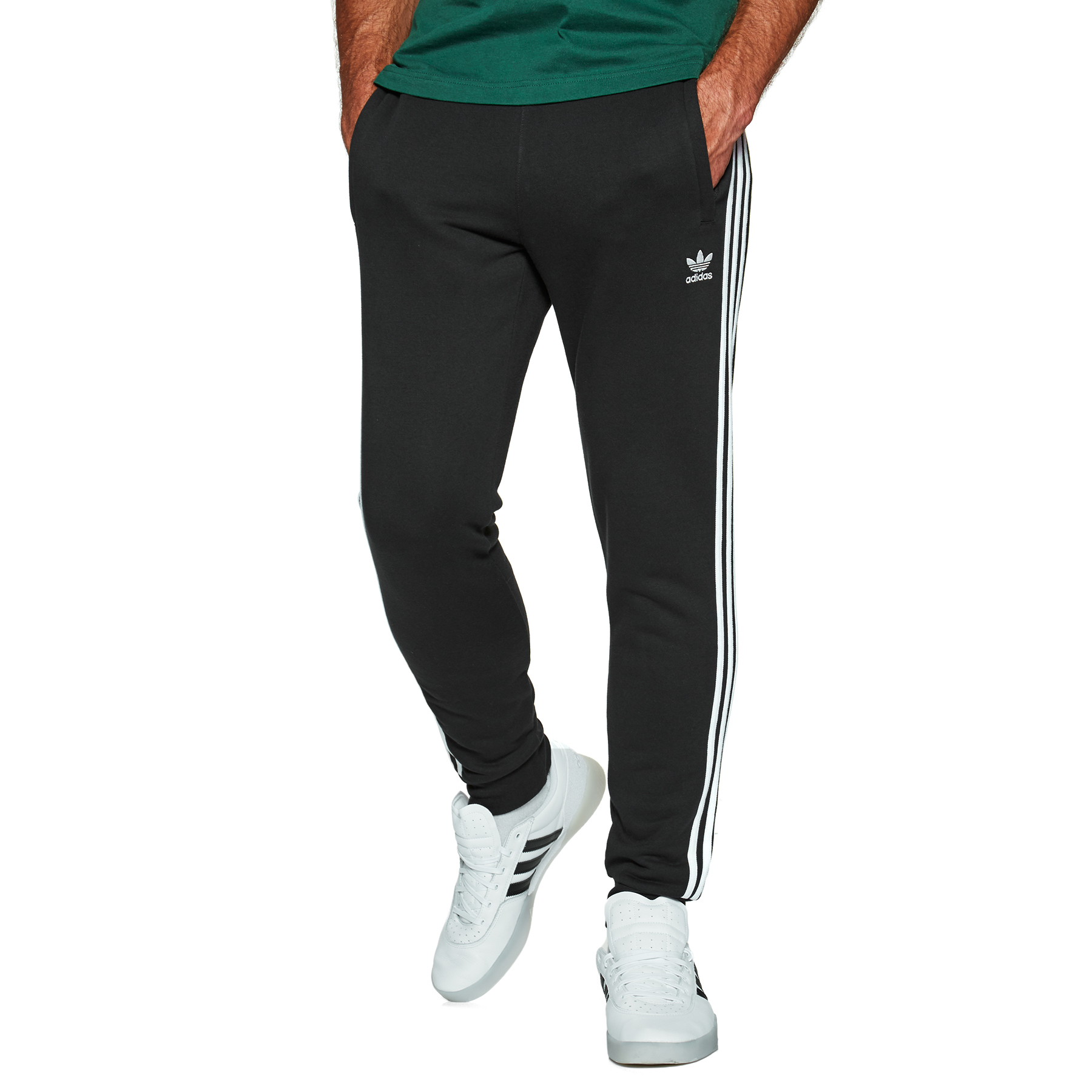 pantalon adidas 3 stripes crew neck homme