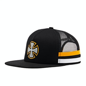 Independent BC Primary Tape Mesh Back Cap - Black Yellow