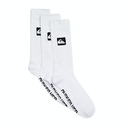 Quiksilver 3 Crew Pack Fashion Socks