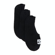 DC 3 Pack Liner Sports Socks