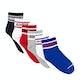 Converse Basic Wordmark Quarter 6 Pairs Kids Socks