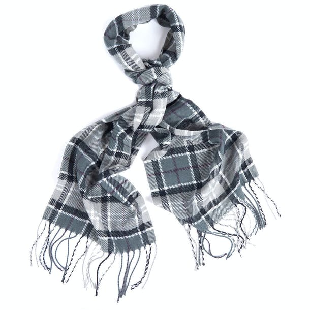 Barbour Scarf And Knitted Gloves Ladies Gift Set