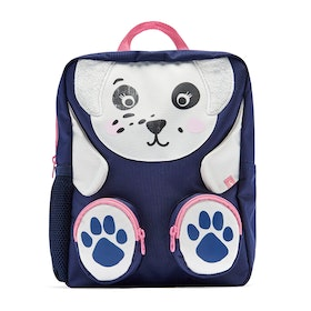 Joules Zippyback Girl's Backpack - Navy Dalmatian