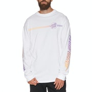 Santa Cruz Opus Dot Stripe Fade Long Sleeve T-Shirt