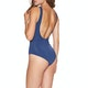 Seafolly Active Ring Front Maillot Womens Swimsuit
