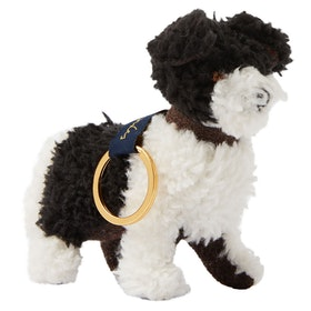 Joules Tweedle Keyring - Dog