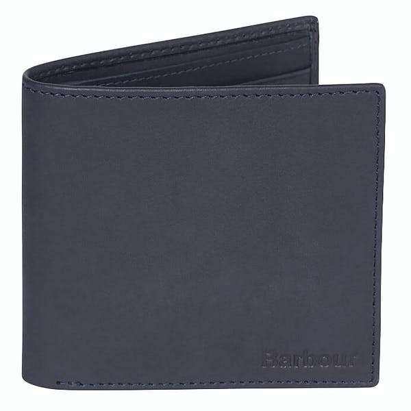 Barbour Leather Billfold Men's Wallet