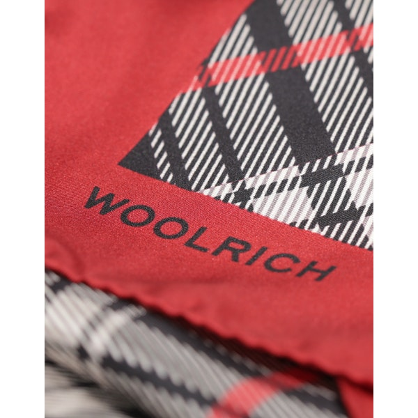 Woolrich Check Silk Sjaal