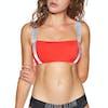 Calvin Klein Strap Bandeau Womens Bikini Top - Fiery Red