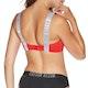 Calvin Klein Strap Bandeau Womens Bikini Top