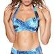 Seafolly Ocean Ombre Twist Soft Cup Halter Bikini Top
