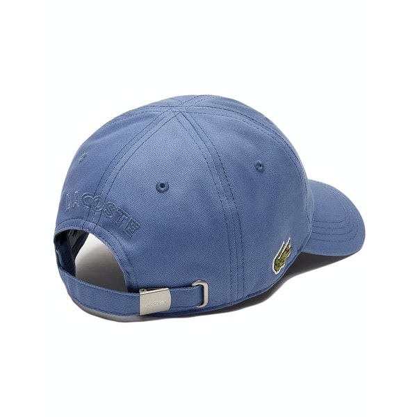Lacoste Embroidered Cotton Cap