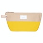Multi Yellow Beige With Natural Leather