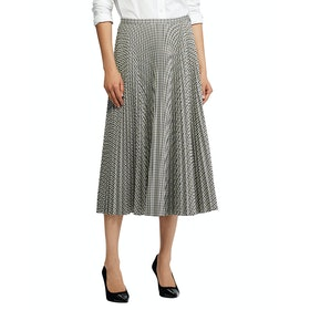Lauren Ralph Lauren Suzua Line Skirt - Brown Multi